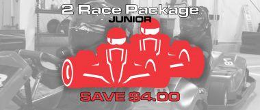 2 X1 Junior Race Package