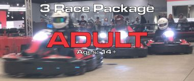 3 Race Package (Adults)