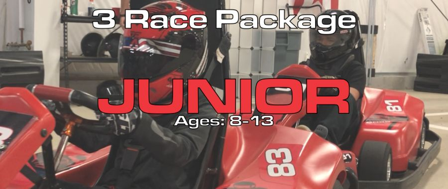 3 Race X1 Junior Package