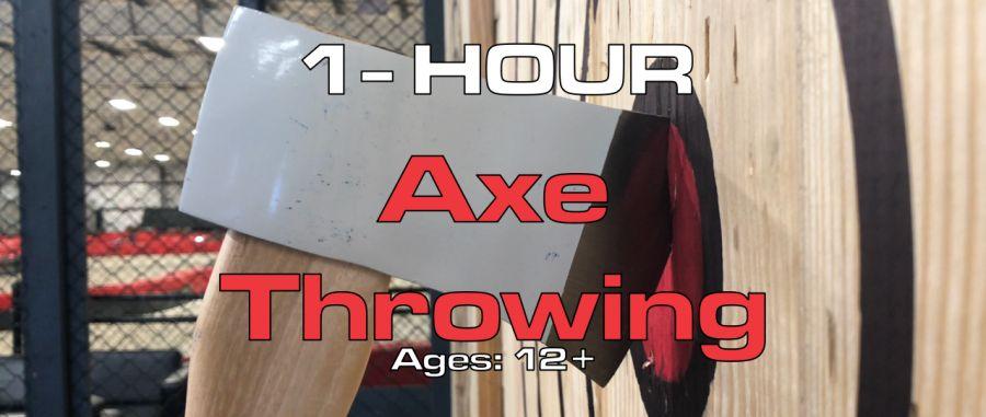 1 Hour Axe Throwing