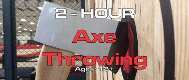 2 Hour Axe Throwing
