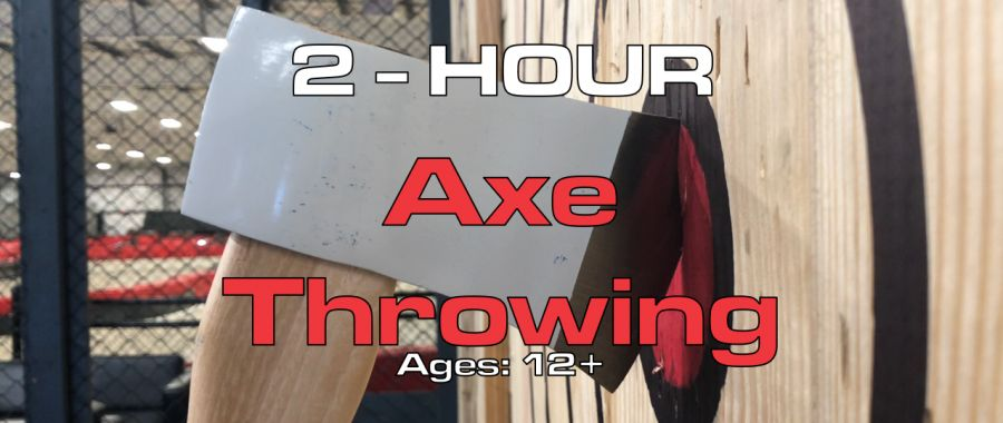 2 Hour Axe Throwing